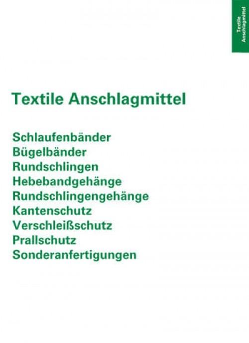 Textile Anschlagmittel